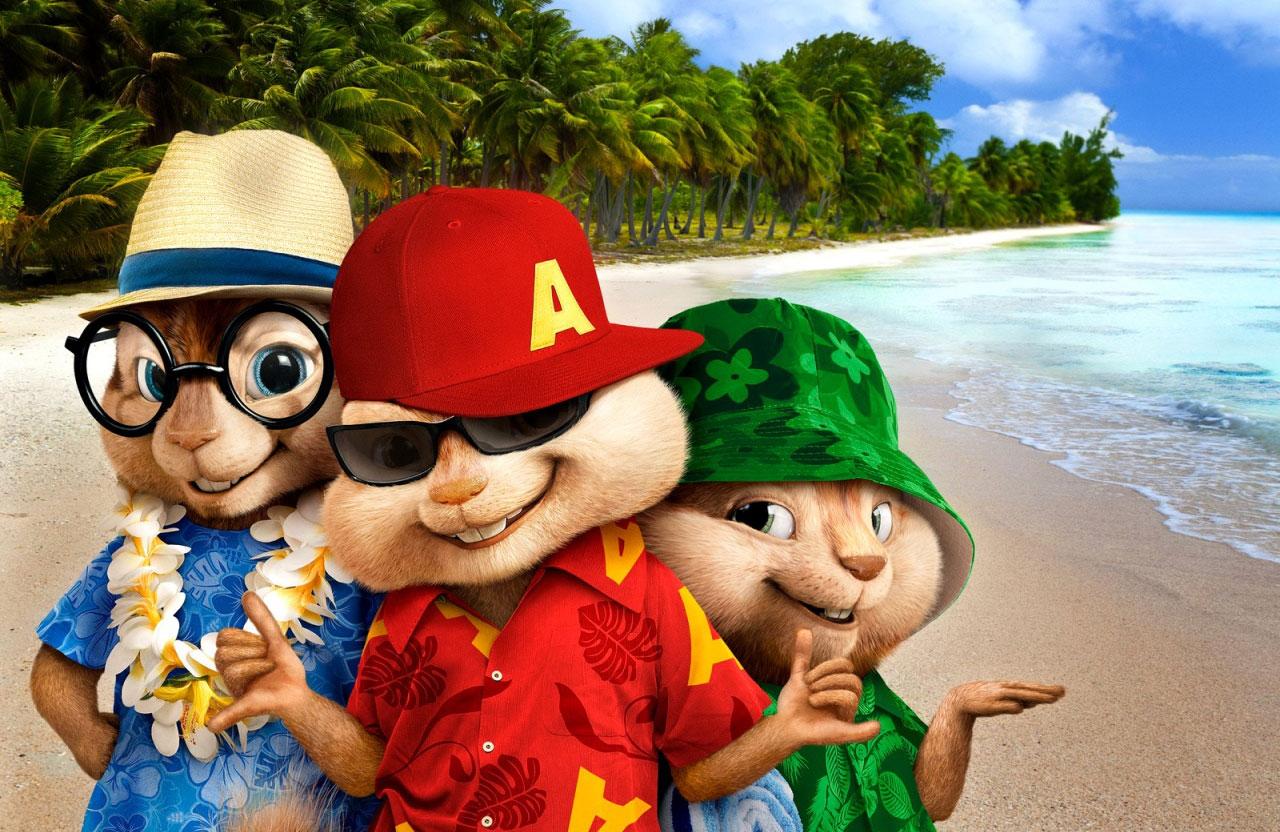 Элвин и бурундуки 3 невероятно увлекательные приключения в ...