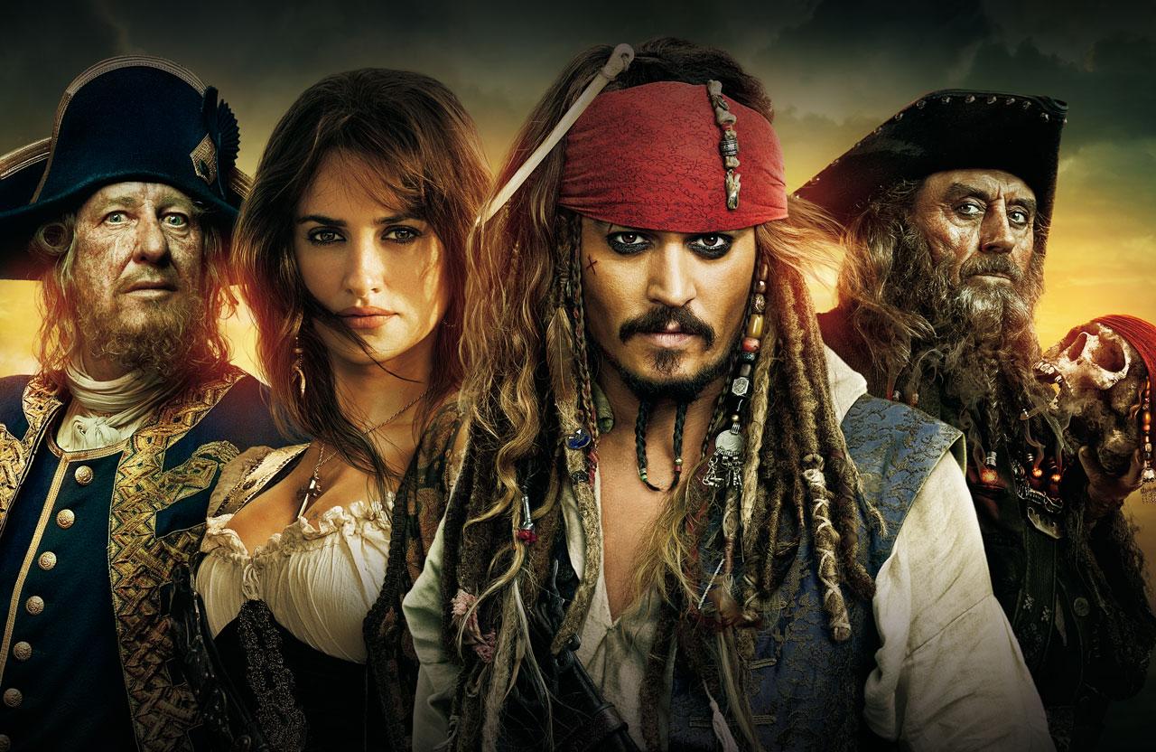 Пірати карибського моря 4 на дивних