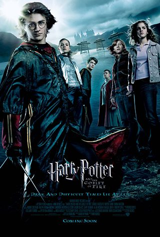 Harry Potter and the Goblet of Fire (мовою оригіналу)