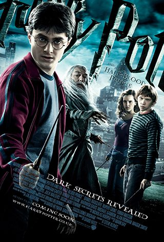 Harry Potter and the Half-Blood Prince (мовою оригіналу)
